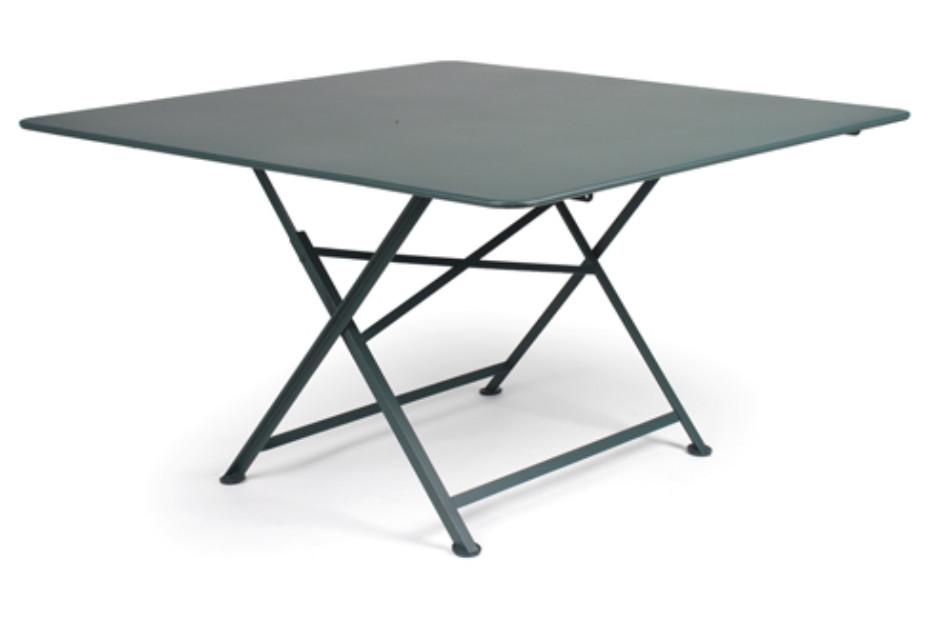 Cargo square folding table