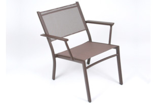 Costa stacking low armchair  by  Fermob