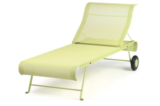 Dune folding adjustable sunlounger  by  Fermob