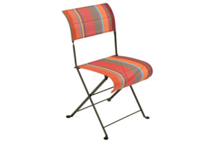 Dune toiles du soleil folding chair  by  Fermob
