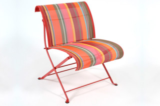 Dune toiles du soleil folding low wirde chair  by  Fermob