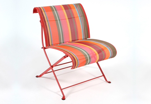 Dune toiles du soleil folding low wirde chair by fermob stylepark - Fermob duin ...