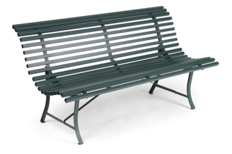 Louisiane Steel Bench