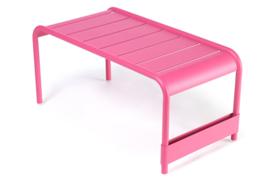 Luxembourg large low table garden bench
