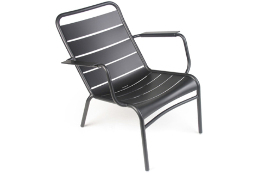 Luxembourg stacking low armchair
