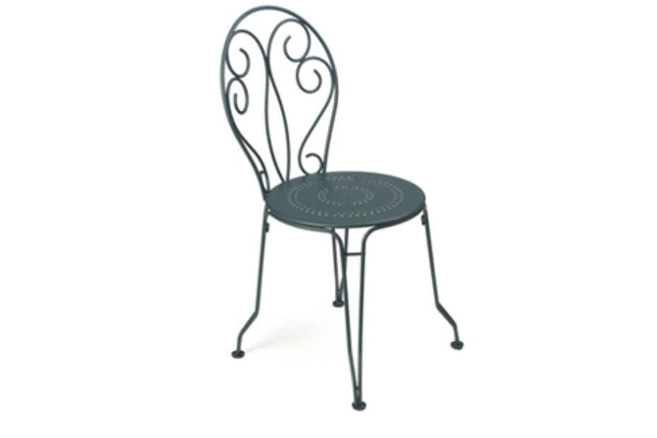 Montmatre stacking armchair perforated