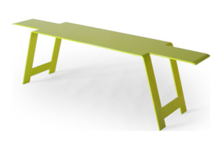 Origami Steel Bench  by  Fermob