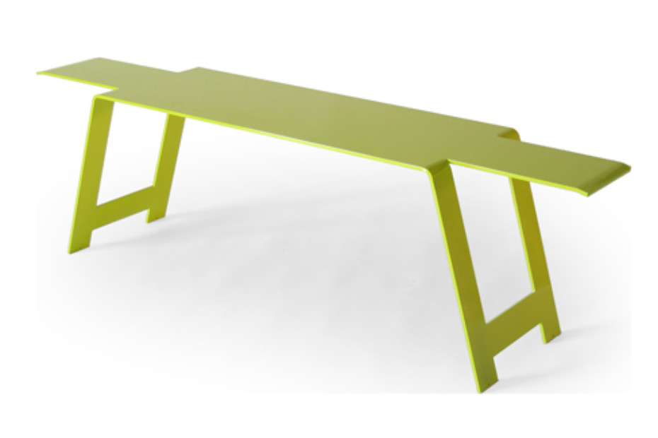 Origami Steel Bench By Fermob Stylepark
