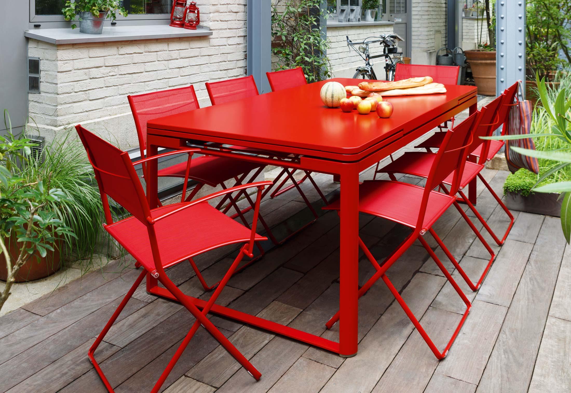 plein air folding chair by fermob stylepark