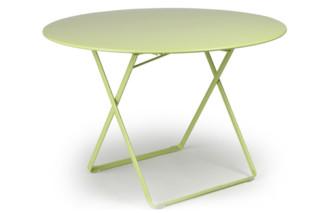 Plein Air round folding table  by  Fermob