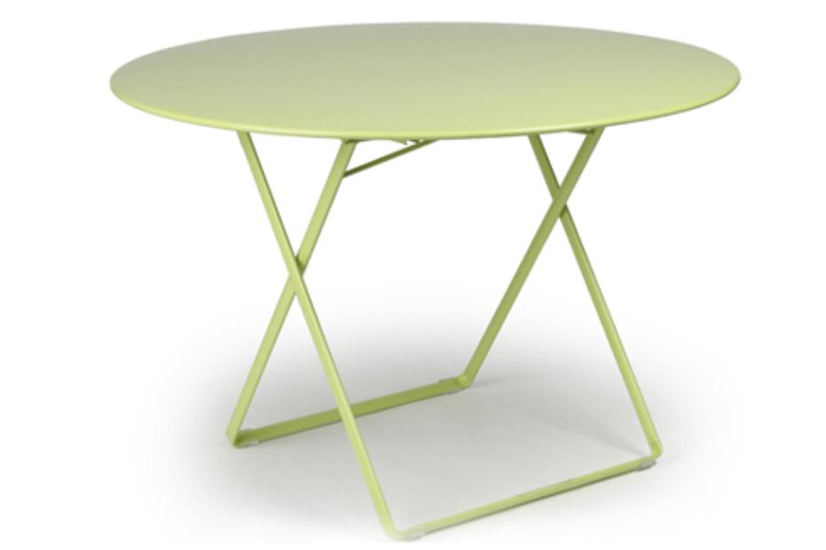 Plein Air round folding table