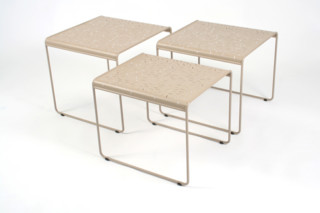 Rendez-vous nesting tables  by  Fermob
