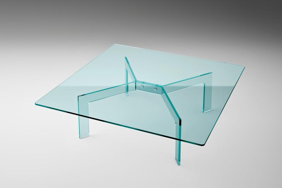 Cross square coffee table