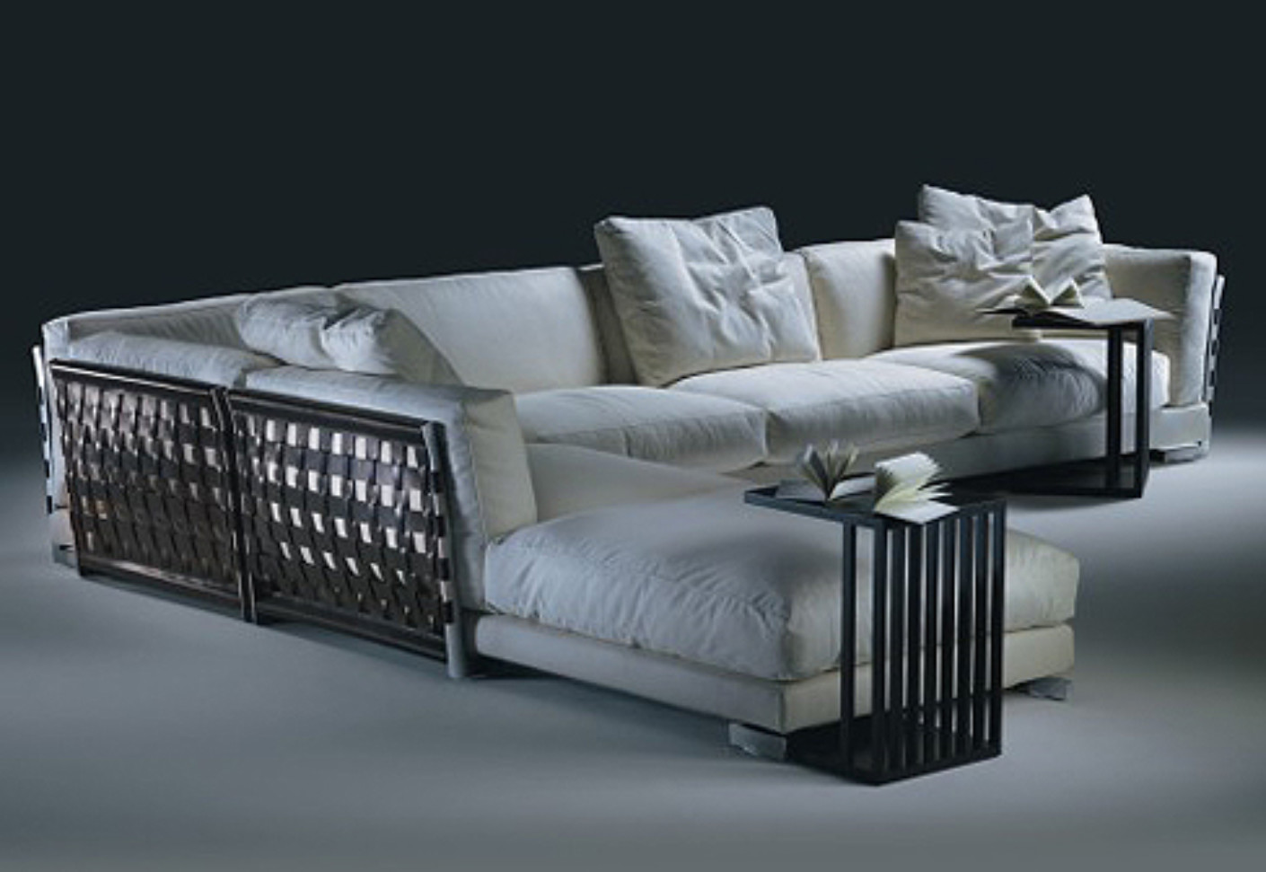cestone sectional sofa by flexform stylepark. Black Bedroom Furniture Sets. Home Design Ideas