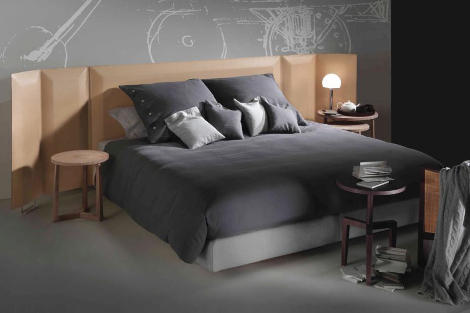 eden plus bed by flexform stylepark. Black Bedroom Furniture Sets. Home Design Ideas
