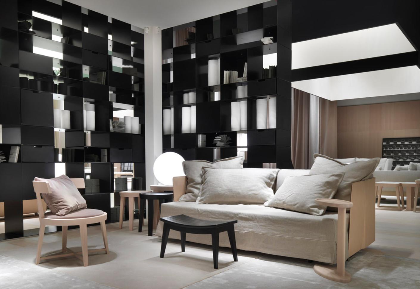 eden sofa von flexform stylepark. Black Bedroom Furniture Sets. Home Design Ideas