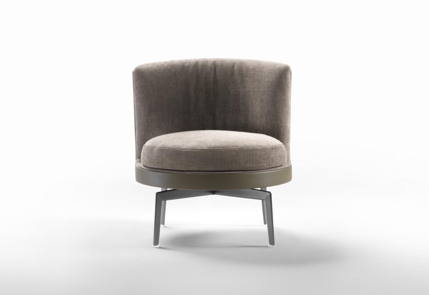 feel good sessel metalgestell von flexform stylepark. Black Bedroom Furniture Sets. Home Design Ideas