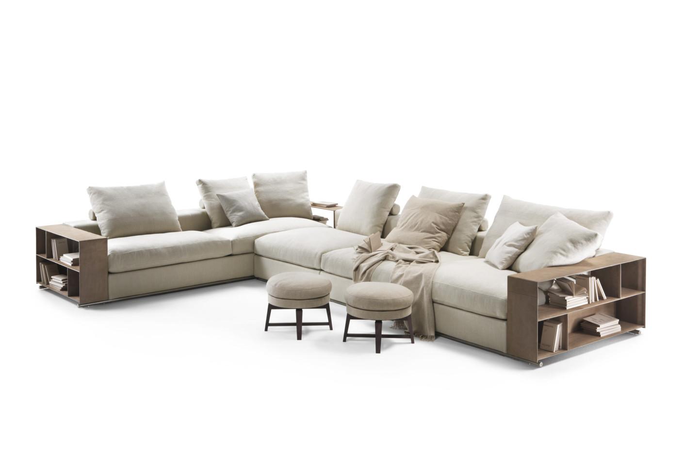 groundpiece ecksofa von flexform stylepark. Black Bedroom Furniture Sets. Home Design Ideas