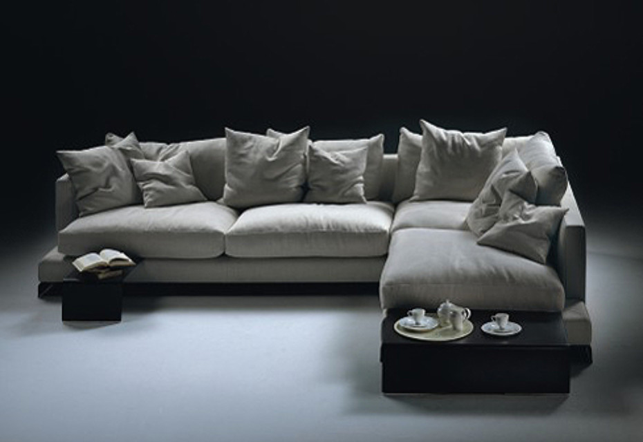 Long island Sectional sofa by Flexform | STYLEPARK