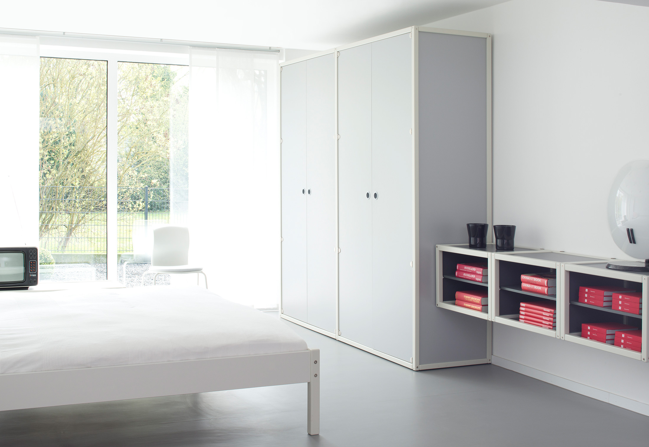 bett von fl totto stylepark. Black Bedroom Furniture Sets. Home Design Ideas