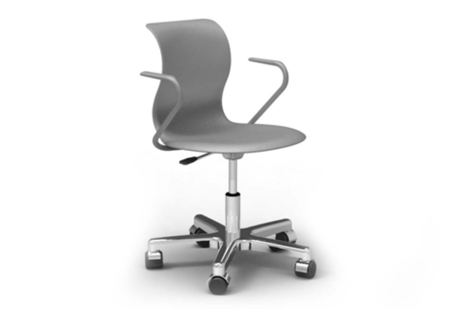 PRO swivel chair with armrests