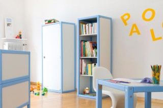 Profilsystem Kinderzimmerregal  von  Flötotto