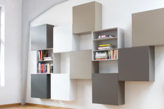Quaro wall mounted shelf  by  Flötotto