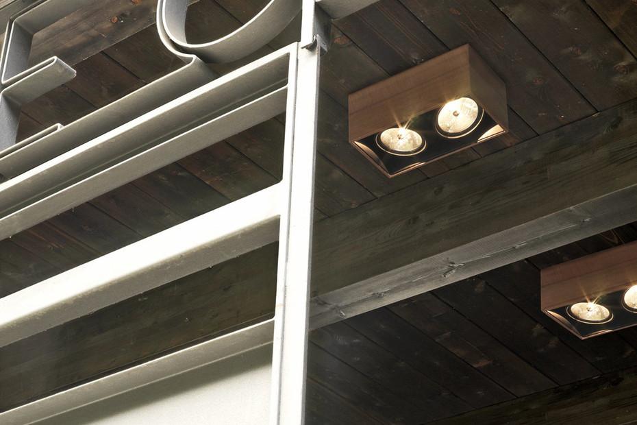 Compass Box surface mounted lamp