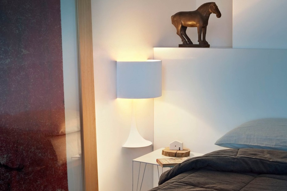 Spun Light soft architecture Wandleuchte klein