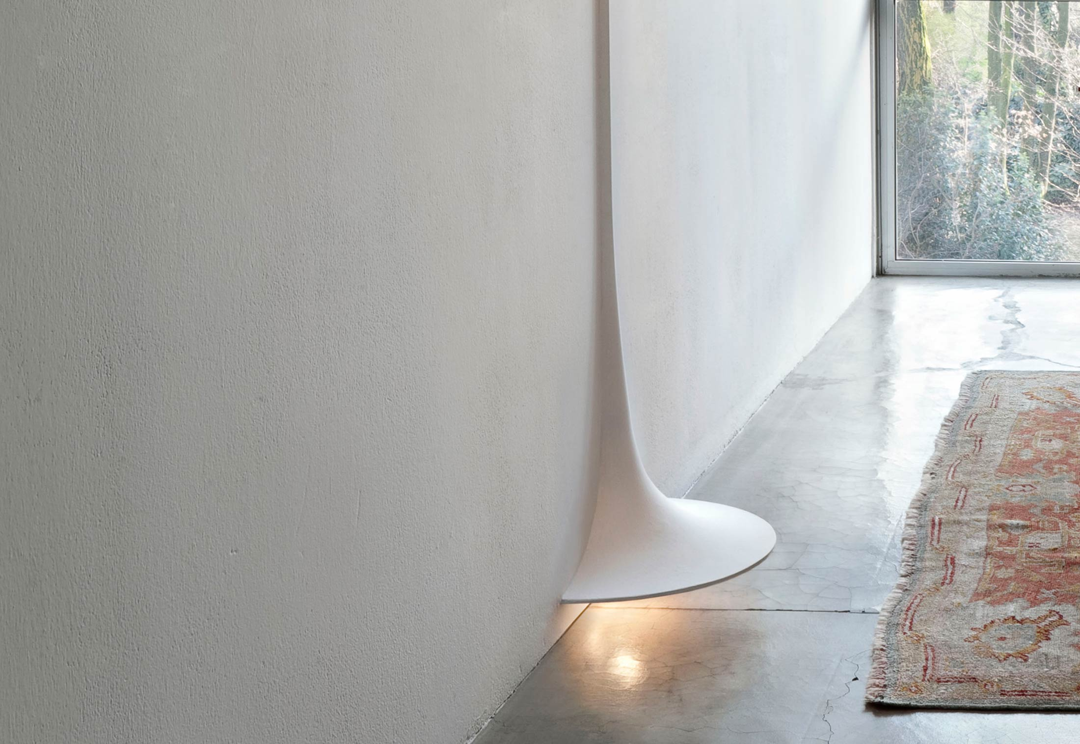 Spun Light Soft Architecture Wall Lamp By Flos