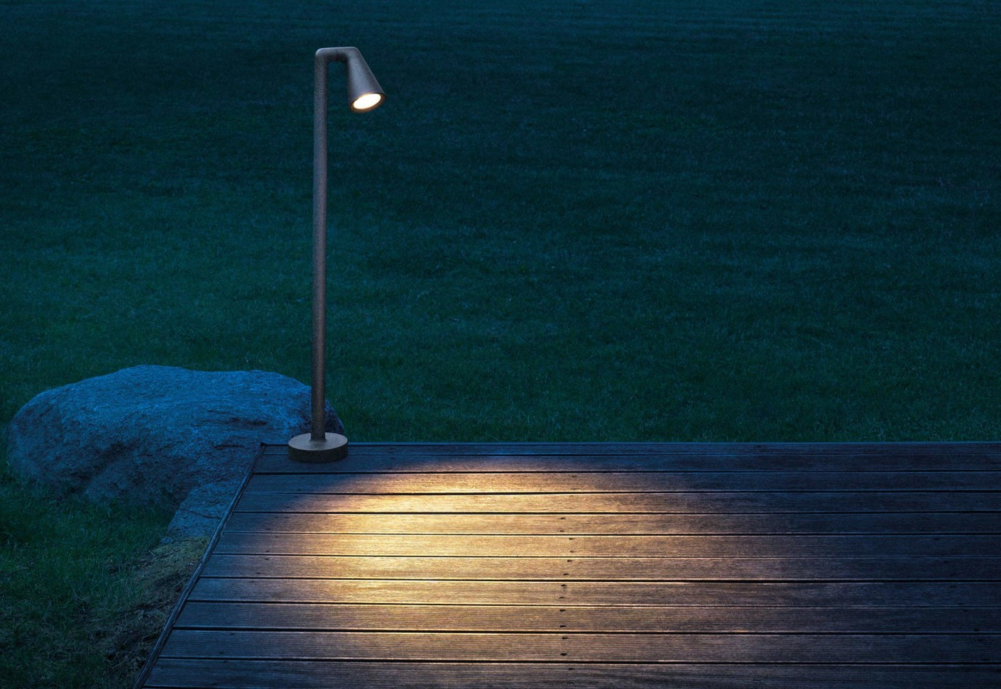 Belvedere Outdoor Spot 2 Floor Lamp By Flos Stylepark