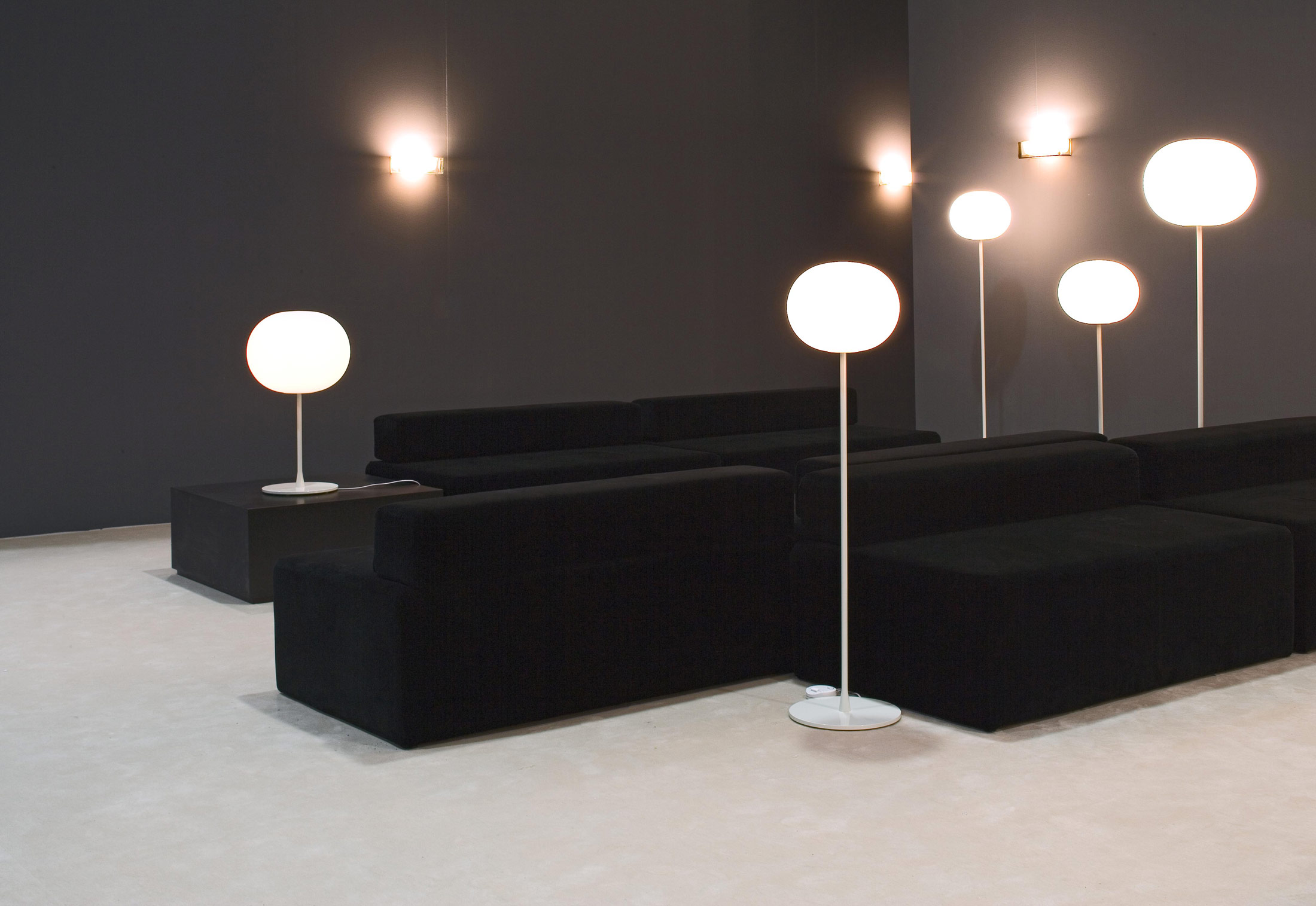 Glo ball f3 floor lamp by flos stylepark glo ball f3 floor lamp mozeypictures Gallery