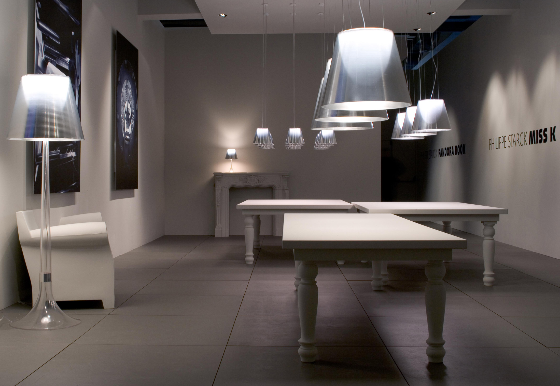 ... FLOS KTRIBE F1 Floor Lamp - London Lighting - 6 ...