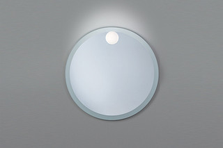 Sand + Mini Glo Ball mirror light  by  FLOS