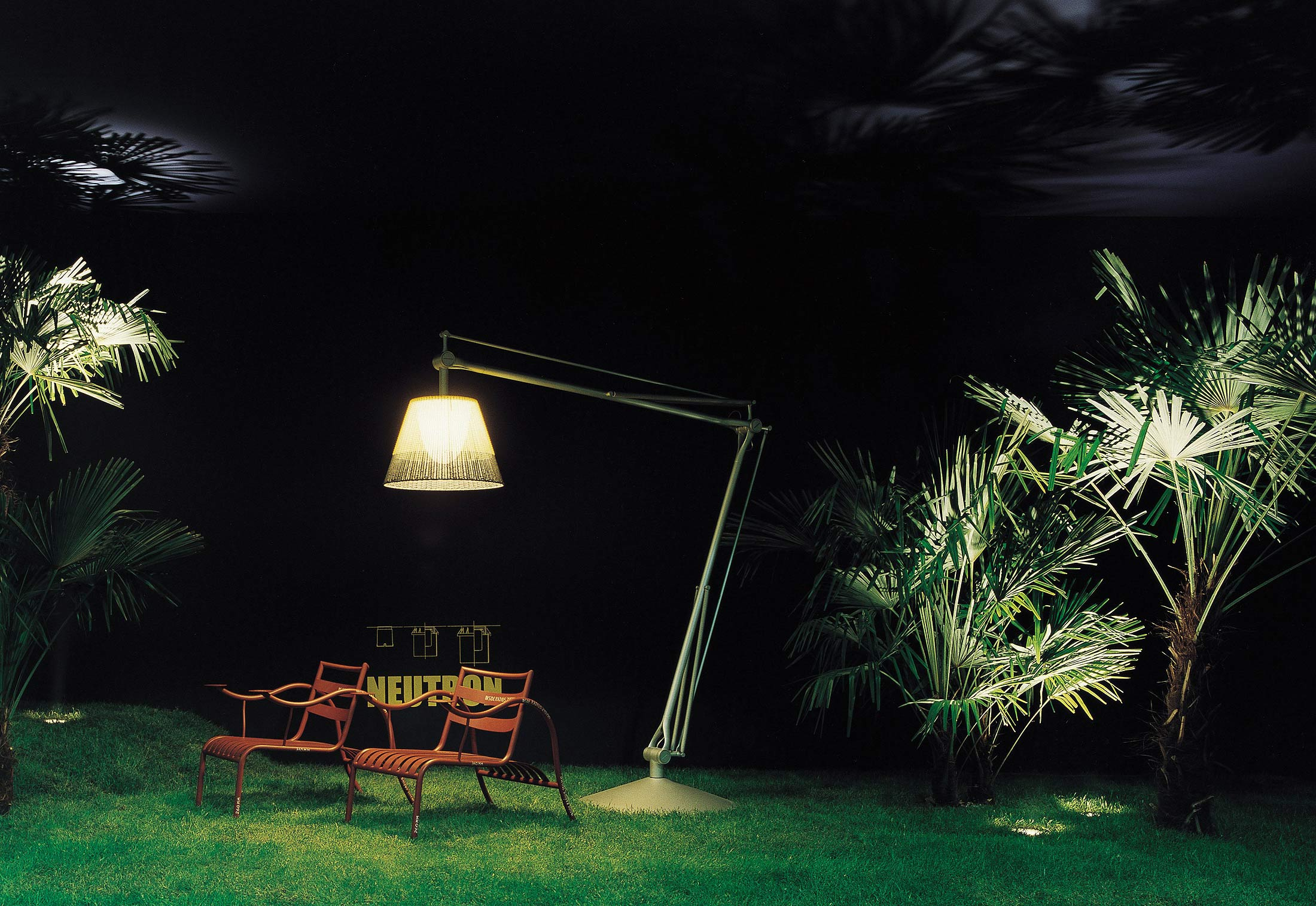 Superarchimoon outdoor floor lamp by flos stylepark superarchimoon outdoor floor lamp workwithnaturefo