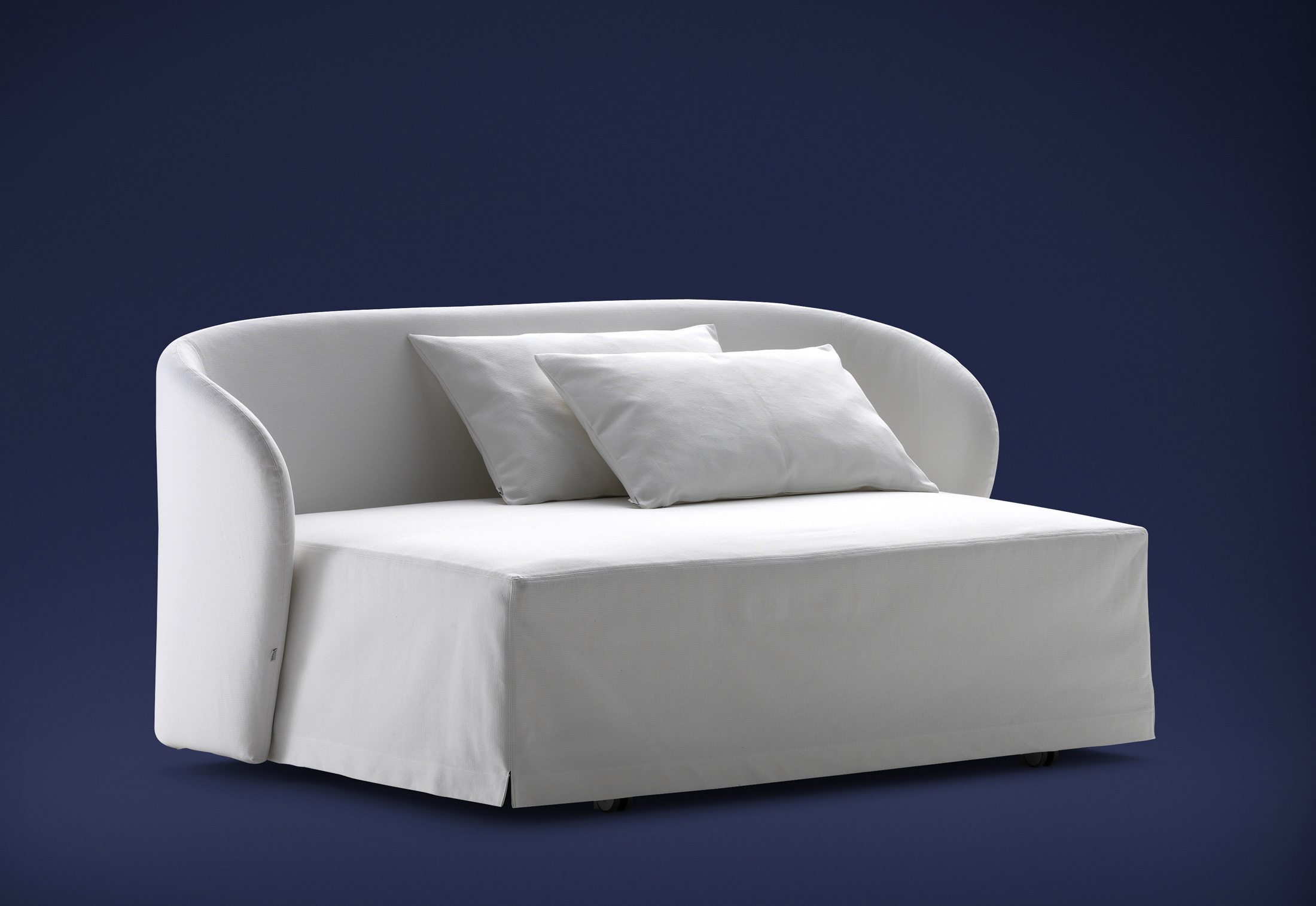 Celine couch bed by flou stylepark for Sofa bed 90x200