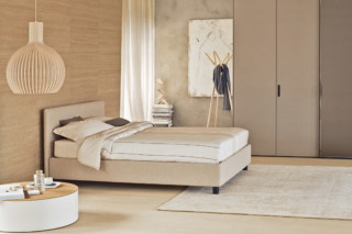 Notturno double bed  by  FLOU