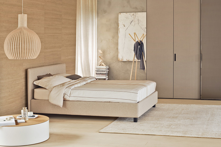 Notturno double bed