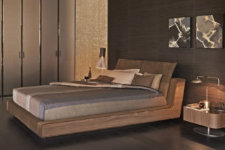 Sama double bed  by  FLOU