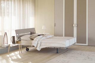 Tadao double bed  by  FLOU
