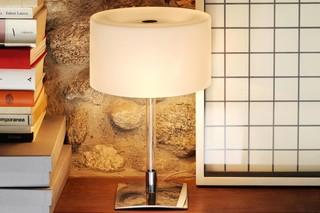 Drum table lamp  by  FontanaArte