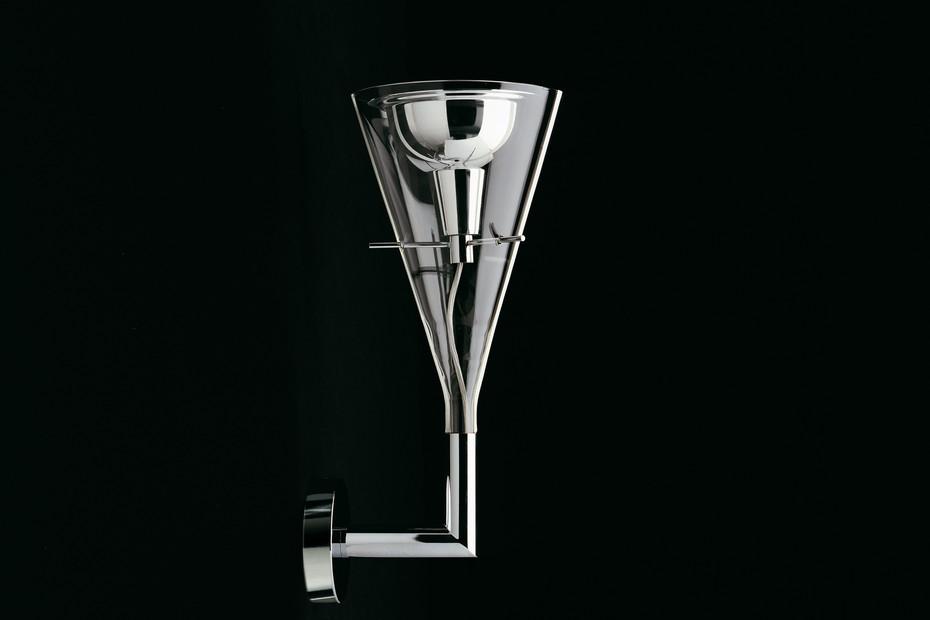 Flûte wall lamp