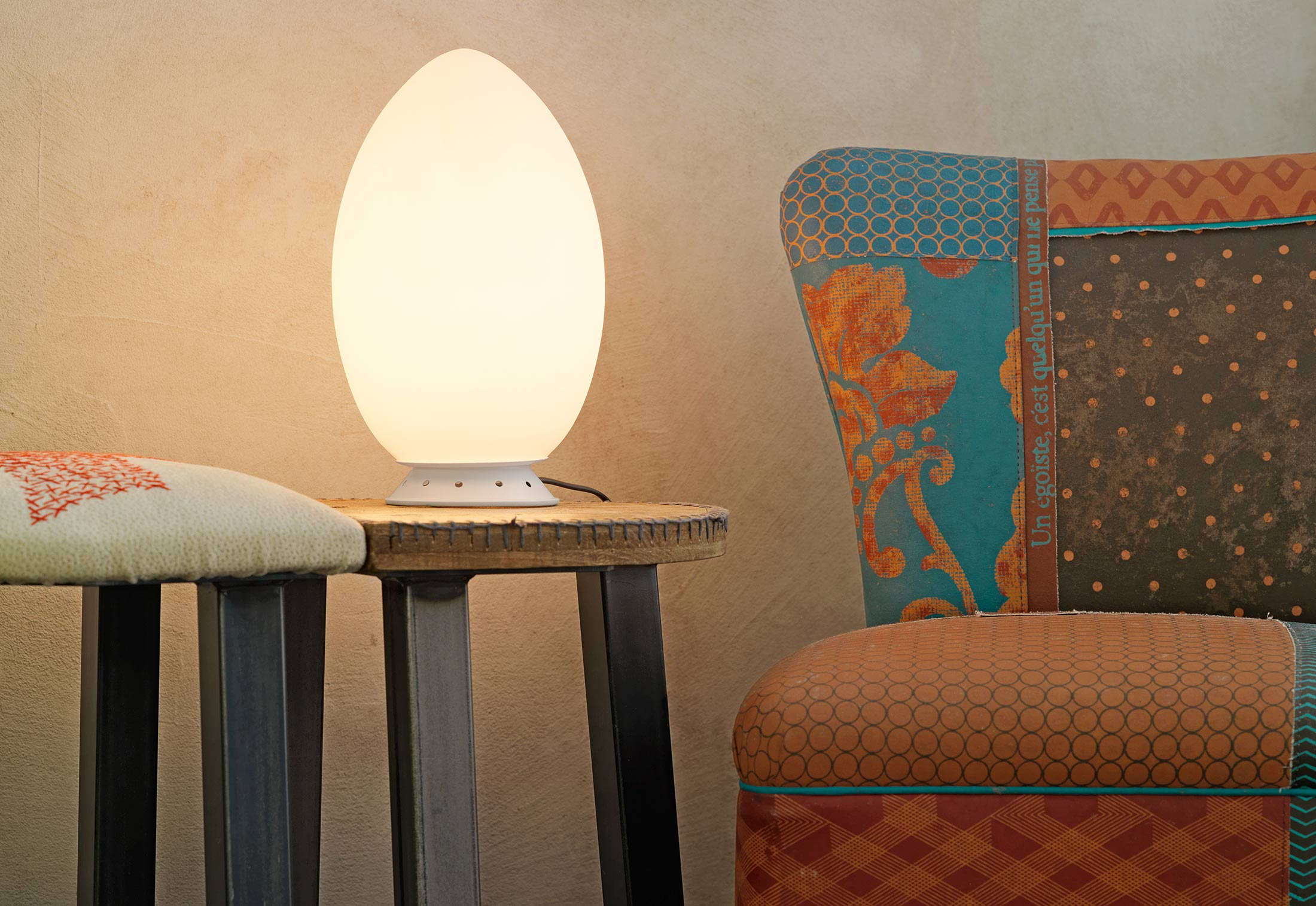 Uovo table lamp by FontanaArte | STYLEPARK