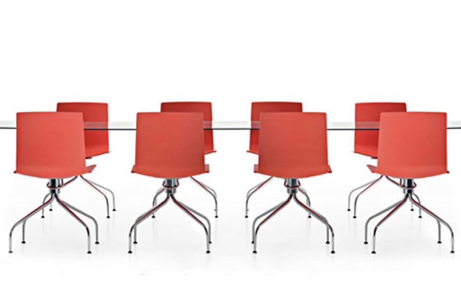 Data Stuhl mit Fußkreuz