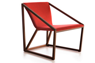 Kite lounge chair  by  Fornasarig