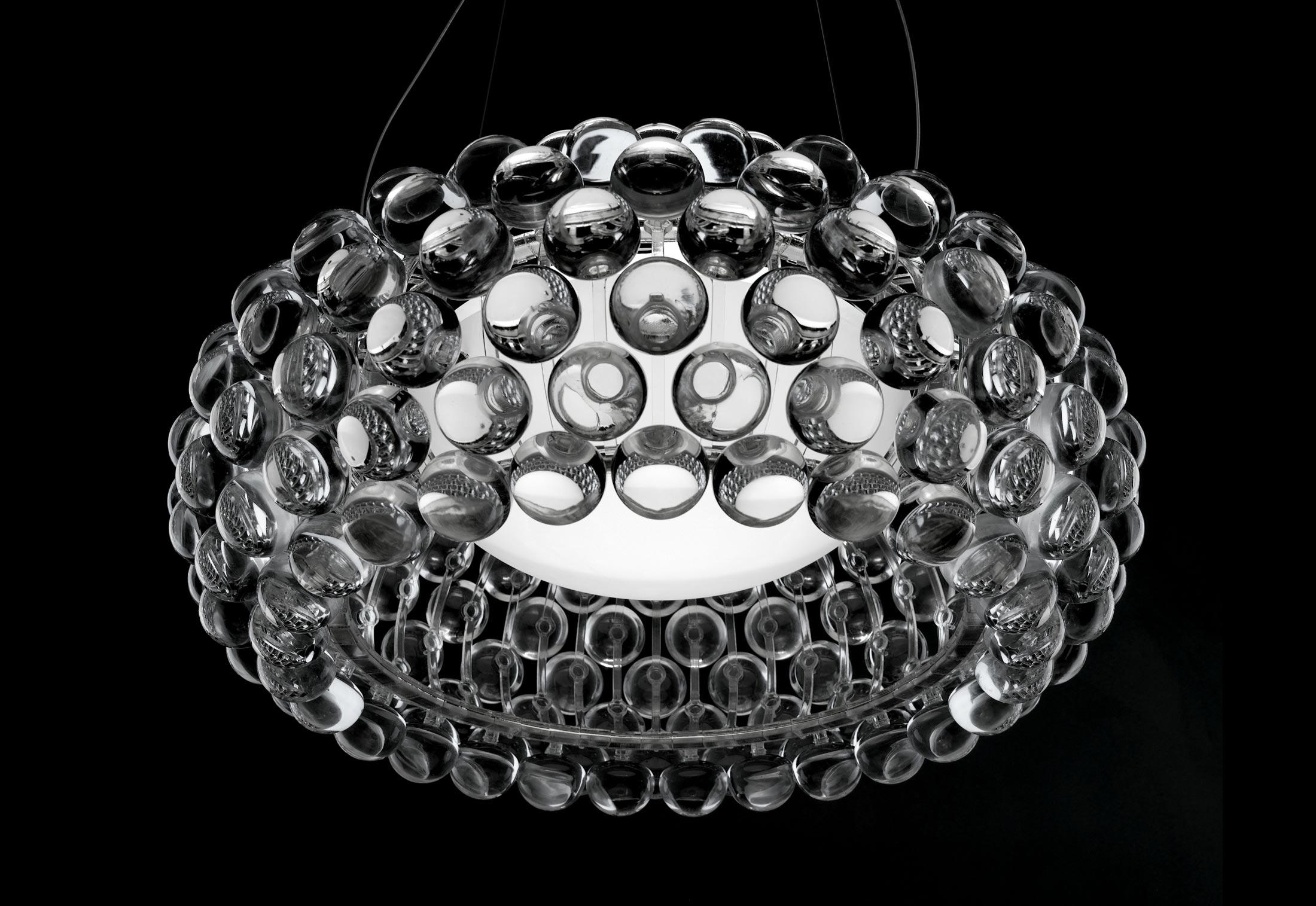 Lampe Caboche Patricia Urquiola caboche suspension lampfoscarini | stylepark