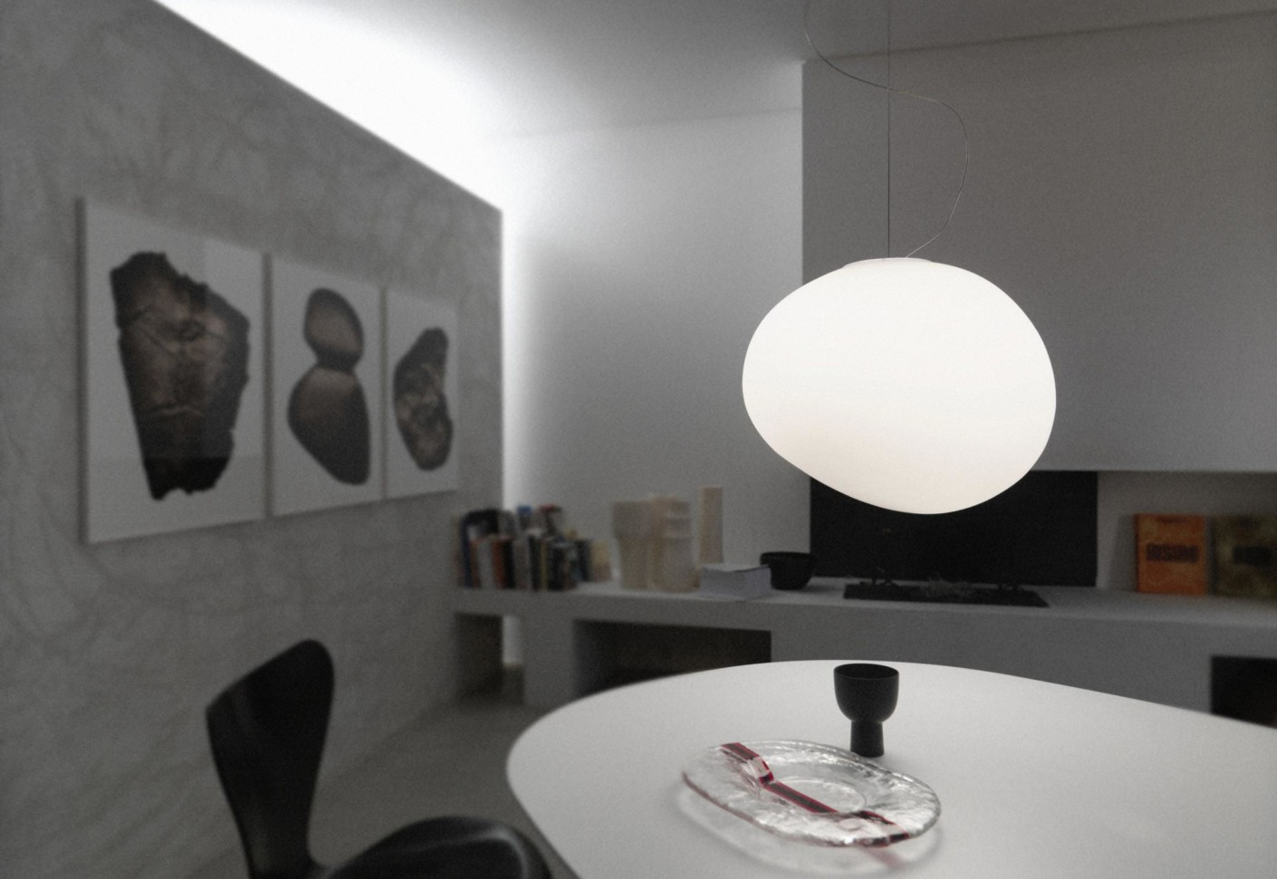 gregg pendant lamp by foscarini stylepark. Black Bedroom Furniture Sets. Home Design Ideas