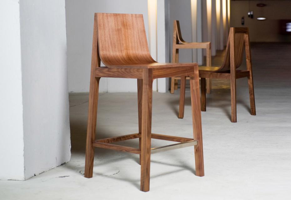 Drape bar stool