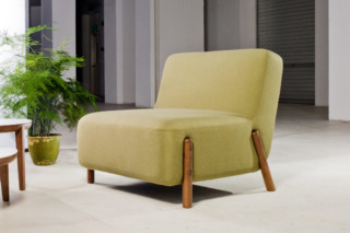 Volume armchair  by  Foundry