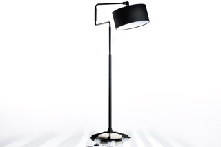 Black Swivel Light Floor  von  Functionals
